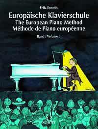 Europäische Klavierschule Band 3 inkl. CD