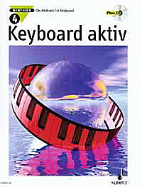 Keyboard aktiv Band 4 inkl. CD