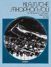 Klassische Saxophon-Soli / Alt-Saxophon und Klavier