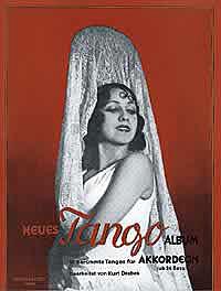 Neues Tango Album für Akkordeon