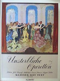 Unsterbliche Operetten für Klavier