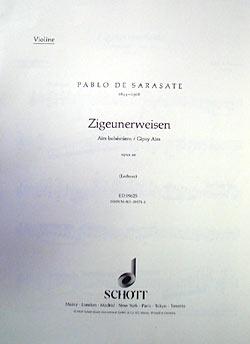 Zigeunerweisen opus 20
