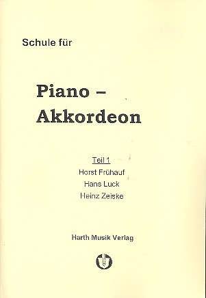 Schule für Akkordeon Bd.1 - Frühauf, Horst