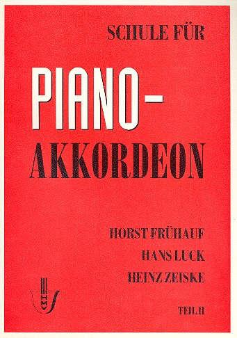 Schule für Akkordeon Bd.2 - Frühauf, Horst