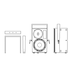 Seeburg acoustic line Aufnahmebügel für TSM12/TSM12dp