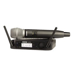 Shure GLXD24ESM86 Digitales Vocal Funksystem SM86