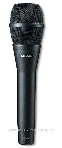 Shure KSM-9 CG Live Mikrofon schwarz
