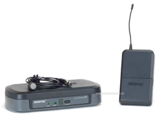 Shure PG-14E/PG185 Funk-SET mit Lavalier-Mikrofon