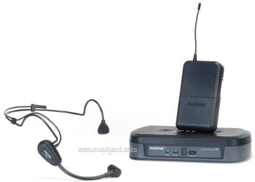 Shure PG-14E/PG30 Funk-SET mit Headset-Mikrofon