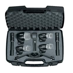 Drum Mikrofon Kit MK-6 1xPG52/3xPG56/2xPG81 ,inkl XLR Kabel