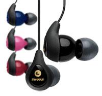 Shure SE115 pink Sound Isolating Ohrhörer