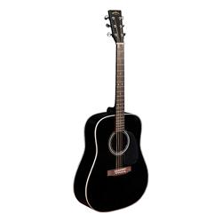 Sigma DM-1ST-BK Westerngitarre Schwarz