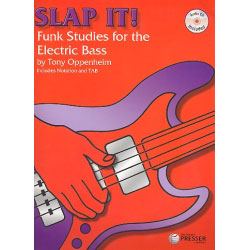 Slap it - 63 Funk Studies for the electric bass + CD