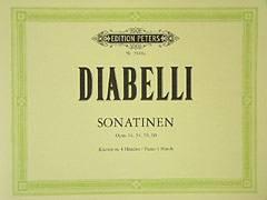 Sonatinen für Klavier zu 4 Händen - Diabelli