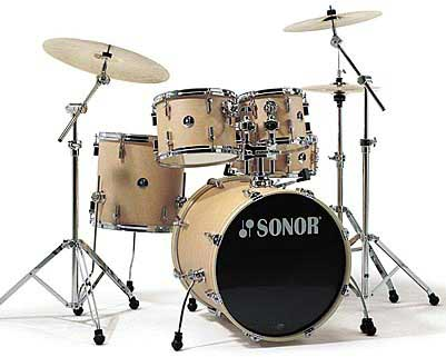 Sonor F-1007 Studio 1 Drum Set Natural