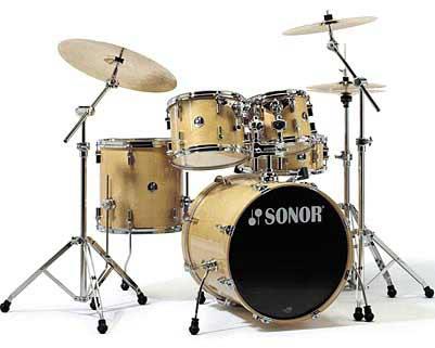 Sonor F-2007 Studio 1 Drum Set Birch