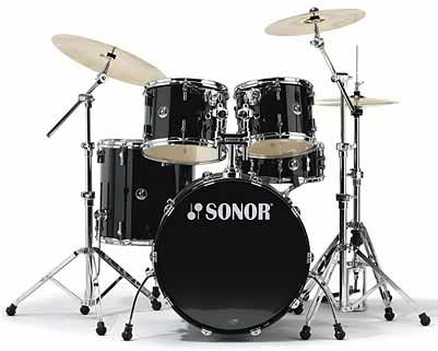Sonor F-3007 Stage 1 Drum Set Piano Black