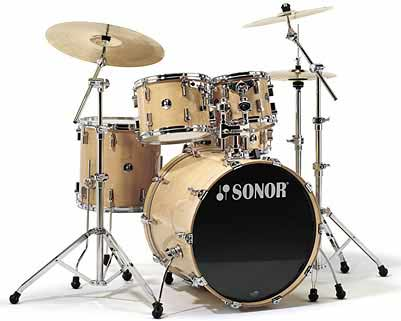 Sonor F-3007 Stage 2 Drum Set Maple