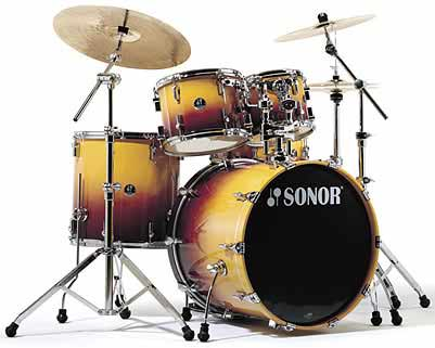 Sonor F-3007 Stage 3 Drum Set Sunburst