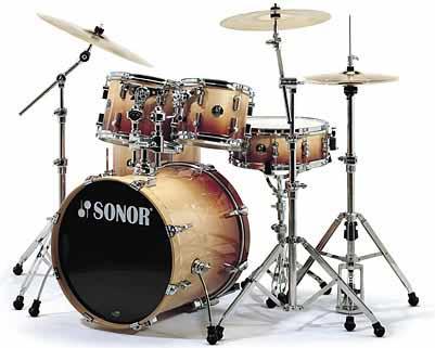 Sonor F-3007 Studio 1 Drum Set Autumn Fade