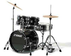 Sonor F-507 Force Combo Drumset Black