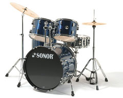 Sonor F-507 Force Combo Drumset Brushed Blue