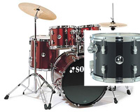 Sonor F-507 Studio 1 Drum Set Black