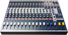 Soundcraft EFX-12 Mischpult Lexicon Hall