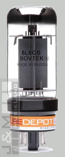 Sovtek 6L6GB Endstufenröhren Paar