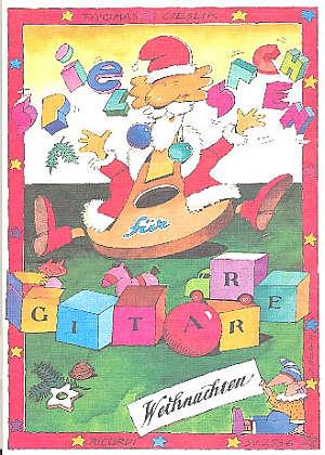 Spielsachen für Gitarre - 16 leichte Weihnachtslieder