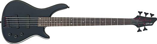Stagg BC-300 5 BK E-Bass