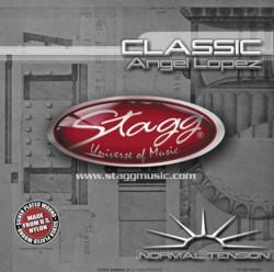 Stagg CL-NT-AL nylon Saiten Klassikgitarre