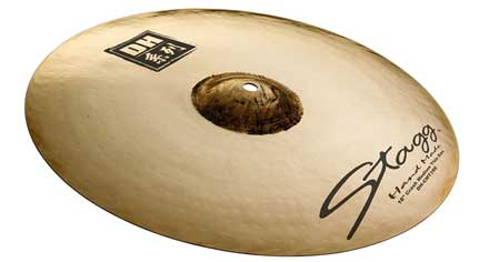 Stagg DH-CMT16E Crash Medium thin exo 16''