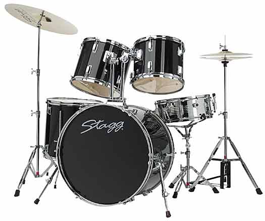 Stagg TIM122 BK Drum Set
