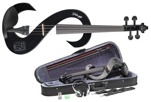 Stagg EVN-4/4 Violine silent black