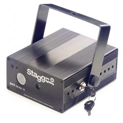 Stagg Kombiniertes Laser und LED Gerät