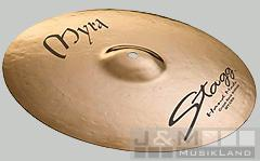 Stagg Myra Brilliant Rock Crash 18''