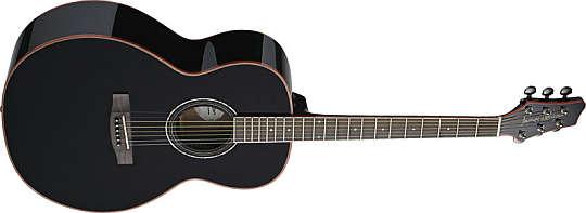 Stagg NA-38 MJ BK Westerngitarre