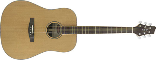 Stagg NA-60 Dreadnought Natur Westerngitarre