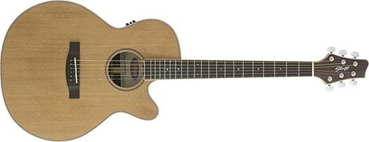 Stagg NA-60 MJ CBB E Natur Westerngitarre