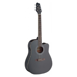 Stagg SA40DCFI-BK Westerngitarre