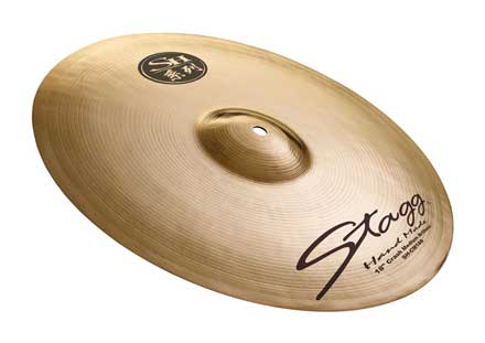 Stagg SH-CM17B Crash brilliant medium 17''