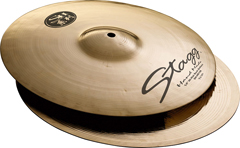 Stagg SH-HR15B HiHat Rock Brilliant 15""
