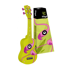 Stagg US-FLAMINGO Sopran Ukulele Flamingo