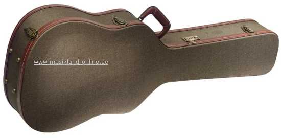 Westerngitarre Koffer vintage GCX-W BZ