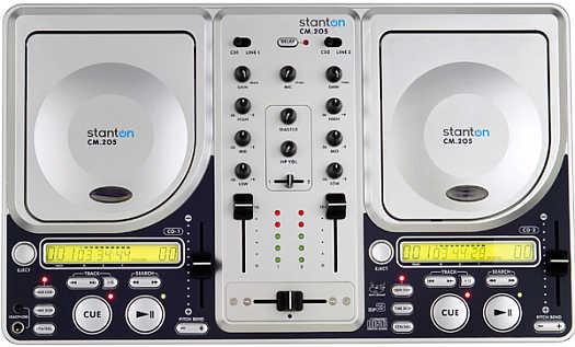 Stanton CM-205 Dual CD-Mixer