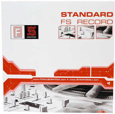 Stanton FSVINYL-180 Final Scratch Vinyl