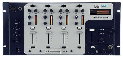 Stanton RM.404 4-Kanal Mixer 19-Zoll, 5HE