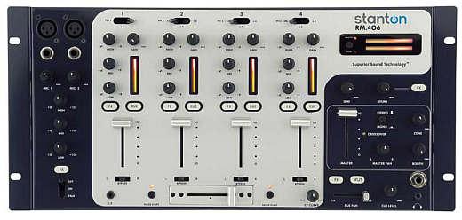 Stanton RM.406 - 4 Kanal 19-Zoll Installations-Mixer