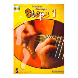 Steps Band 1 (+2 CD's) Schule für Akustikgitarre